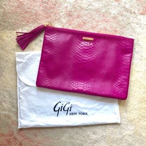 Gigi New York Large Clutch